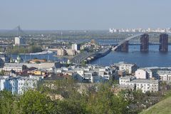 Kiev cityscape Royalty Free Stock Photos