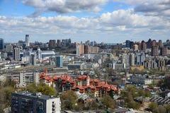 Kiev cityscape in spring Stock Images