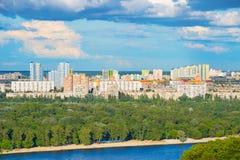 Kiev cityscape, Ukraine Stock Images