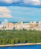Kiev cityscape, Ukraine Royalty Free Stock Photo