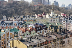 Kiev cityscape, Ukraine Royalty Free Stock Photos