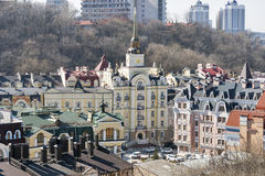 Kiev cityscape, Ukraine Royalty Free Stock Photography