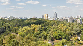 Kiev cityscape, Ukraine Stock Photography