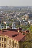 Kiev cityscape. View over Podil district. Stock Images