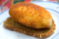 Kiev cutlet Royalty Free Stock Photography