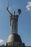 Kiev, de Oekraïne - April 15, 2017: De moeder van het Vaderland monumen Stock Foto's