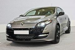 Kiev, de Oekraïne; 10 april, 2014 Renault Megane RS stock foto