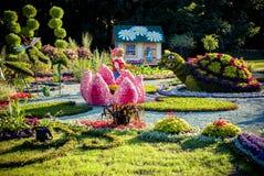 KIEV, DE OEKRAÏNE - AUGUSTUS 22: bloemtentoonstelling Royalty-vrije Stock Foto's
