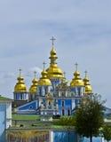 Kiev, de Oekraïne, klooster Mihaylovskiy Stock Foto's