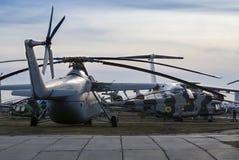 Kiev, de Oekraïne, 7 Maart, 2019 - Nationaal Luchtvaartmuseum redactie royalty-vrije stock foto