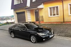 Kiev, de Oekraïne - November 5, 2018: Lexus ES350 royalty-vrije stock afbeelding