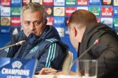 KIEV, DE OEKRAÏNE - OCT 20: Jose Mourinho Stock Foto's