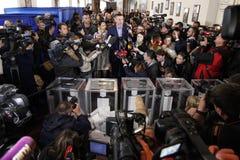 Kiev, de Oekraïne - Oct 25, 2015: Vitali Klitschko Royalty-vrije Stock Afbeeldingen