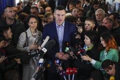 Kiev, de Oekraïne - Oct 25, 2015: Vitali Klitschko Stock Foto