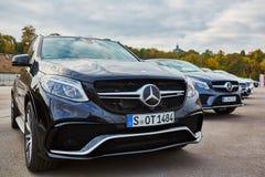 Kiev, de Oekraïne - OKTOBER 10, 2015: Mercedes Benz Stock Foto's
