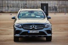 Kiev, de Oekraïne - OKTOBER 10, 2015: Mercedes Benz Stock Fotografie