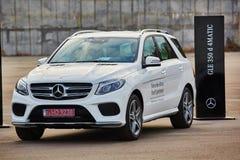 Kiev, de Oekraïne - OKTOBER 10, 2015: Mercedes Benz Royalty-vrije Stock Afbeeldingen