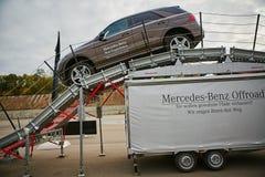 Kiev, de Oekraïne - OKTOBER 10, 2015: Mercedes Benz Royalty-vrije Stock Foto's