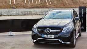 Kiev, de Oekraïne - OKTOBER 10, 2015: Mercedes Benz Stock Afbeelding