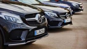 Kiev, de Oekraïne - OKTOBER 10, 2015: Mercedes Benz Stock Afbeeldingen