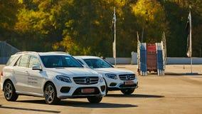 Kiev, de Oekraïne - OKTOBER 10, 2015: Mercedes Benz Royalty-vrije Stock Afbeelding