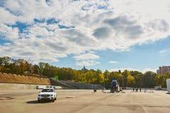 Kiev, de Oekraïne - OKTOBER 10, 2015: Mercedes Benz Royalty-vrije Stock Foto
