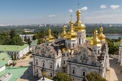 Kiev, de Oekraïne, panoramische stadsmening Stock Afbeelding