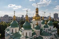 Kiev, de Oekraïne, panoramische stadsmening Royalty-vrije Stock Foto's