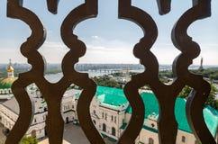 Kiev, de Oekraïne, panoramische stadsmening Stock Afbeeldingen