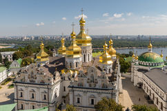 Kiev, de Oekraïne, panoramische stadsmening Royalty-vrije Stock Fotografie
