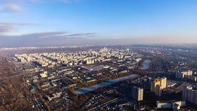 Kiev del cielo, Ucrania Foto de archivo libre de regalías