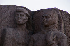 Kiev: detail of the open-air museum of the Great Patriotic War Stock Images