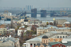 Kiev district of Podil Royalty Free Stock Images