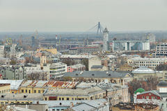 Kiev district of Podil Royalty Free Stock Photo
