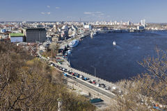 Kiev and Dnepr Stock Images