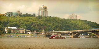 Kiev. Dnepr River. stock photography