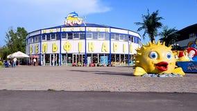 Kiev dolphinarium `Nemo` in Kiev, Ukraine, stock video footage