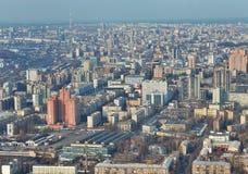 Kiev downtown aerial view Stock Image