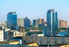 Kiev Downtown architecture Royalty Free Stock Photo