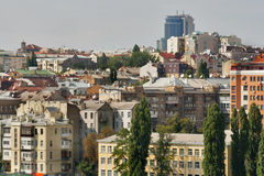 Kiev downtown cityscape Royalty Free Stock Photo