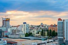 Kiev downtown skyline, Ukraine Stock Photo
