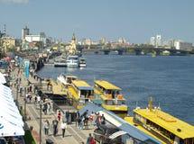 Kiev. Embankment. royalty free stock photography