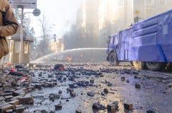 Kiev 19 febbraio 2014 fotografia stock libera da diritti