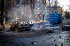 Kiev 19 febbraio 2014 immagini stock libere da diritti