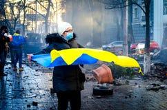 Kiev 19 februari 2014 Stock Afbeeldingen