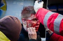 Kiev 19 februari 2014 Royalty-vrije Stock Fotografie