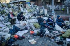 Kiev 19 februari 2014 Stock Afbeelding