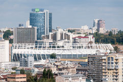 Kiev football stadium roof Stock Image