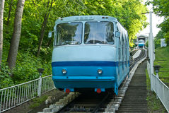 Kiev funicular Stock Photography