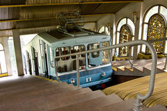 Kiev funicular Stock Images